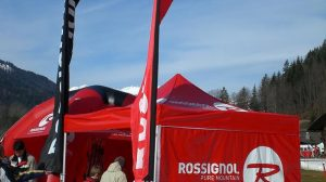 Carpa plegable 3x3m especial para deportes de nieve